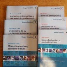 Libros de segunda mano: CURSO DE NIVELACION PARA LA CONVALIDACION ACADEMICA DEL TITULO DE AYUDANTE TECNICO SANITARIO / 2007. Lote 151565090