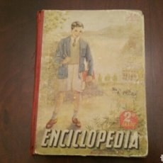 Libri di seconda mano: ANTIGUO LIBRO ESCOLAR. ENCICLOPEDIA (SEGUNDO GRADO) LUIS VIVES. 1952. Lote 161797949