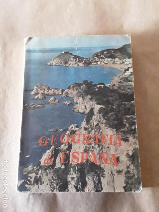 GEOGRAFIA DE ESPAÑA,ANTONIO MARÍA ZUBIA,PRIMER CURSO (Libros de Segunda Mano - Libros de Texto )