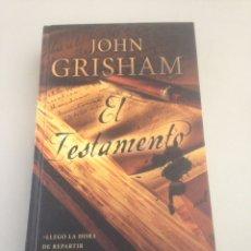 Libros de segunda mano: EL TESTAMENTO - JOHN GRISHAM. Lote 151880477