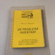 Libros de segunda mano: UN PROBLEMA INVENTADO. Lote 151881818