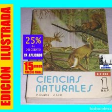 Libros de segunda mano: CIENCIAS NATURALES - EGB - 1º - PRIMERO DE BUP - V - DUALDE - J. LILLO - ECIR - 15 EUROS. Lote 152531702