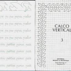 Libros de segunda mano: CUADERNO * CALCO VERTICAL SALVATELLA * Nº 3. Lote 152546514