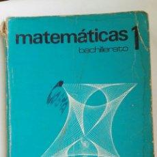 Libros de segunda mano: MATEMÁTICAS 1 BACHILLERATO SM. Lote 152563388