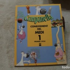 Libros de segunda mano: CAMPANELLA CONEIXEMENT DEL MEDI 1 PRIMER COCLE TEIDE LLIBRE MOSTRA. Lote 153594218