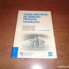 Libros de segunda mano: CASOS PRACTICOS DE DERECHO PROCESAL. INTRODUCCIÓN. GIMENO SENDRA ET. AL) ED. RAMÓN ARECES. Lote 210933620