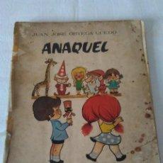 Libros de segunda mano: 155-ANAQUEL, EDITORIAL RUIZ ROMERO, 1965. Lote 154037646