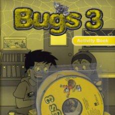 Libros de segunda mano: BUGS 3 ACTIVITY PACK, ED. MACMILAN PRECINTADO CON CDS. Lote 154208786