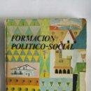 Libros de segunda mano: FORMACIÓN POLÍTICO-SOCIAL 3 DE BACHILLERATO. Lote 154467897