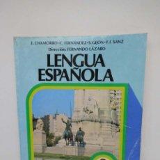 Libros de segunda mano: LIBRO DE TEXTO LENGUA ESPAÑOLA 3 EGB ANAYA. 1980. . Lote 154512558