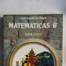Libros de segunda mano: MATEMÁTICAS 6 EGB 1977 EN PERFECTO ESTADO ANAYA. Lote 155154594