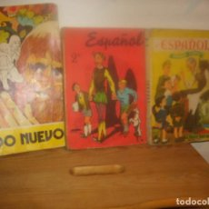 Libros de segunda mano: ESPAÑOL 1º Y 2º CURSO 1964 1965. EDITORIAL SM. MUNDO NUEVO 5º EGB, ANAYA 1976. PORTES GRATIS.. Lote 155508490