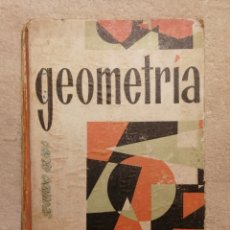 Libros de segunda mano: GEOMETRÍA SEGUNDO GRADO. 1965. Lote 155688838