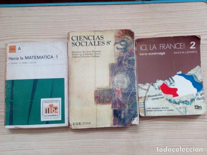 10 LIBROS EGB Y BACHILLERATO - ANAYA - SM - BRUÑO (Libros de Segunda Mano - Libros de Texto )