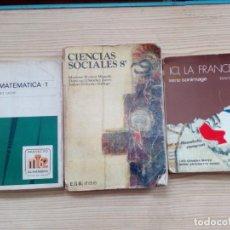 Libros de segunda mano: 10 LIBROS EGB Y BACHILLERATO - ANAYA - SM - BRUÑO. Lote 155868242