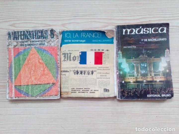 Libros de segunda mano: 10 Libros EGB Y Bachillerato - Anaya - SM - Bruño - Foto 2 - 155868242