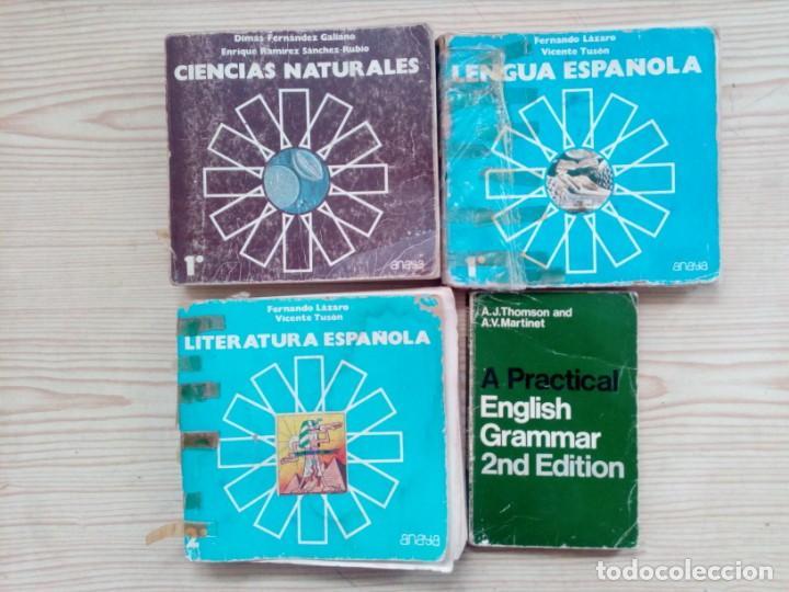 Libros de segunda mano: 10 Libros EGB Y Bachillerato - Anaya - SM - Bruño - Foto 3 - 155868242