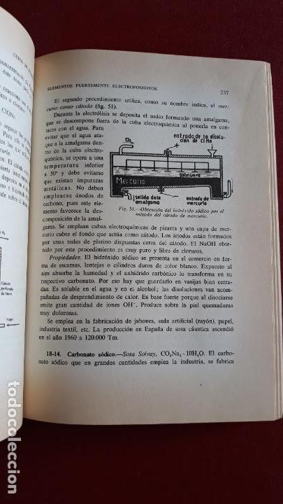 Libros de segunda mano: CURSO DE QUIMICA, ESCUELAS TECNICAS DE GRADO MEDIO. ALFONSO ESTEVE SEVILLA 1964 - Foto 2 - 155958114
