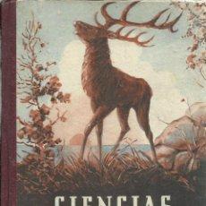 Libros de segunda mano: CIENCIAS FISICONATURALES, PRIMER GRADO. Lote 156668258