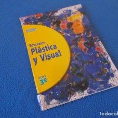 Libros de segunda mano: EDUCACION PLASTICA Y VISUAL 3º ESO . SANTILLANA 1995. Lote 156918418