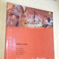 Gebrauchte Bücher - EDUCACION FÍSICA - BACHILLERATO - MATERIA COMUN 1998 - 157112046