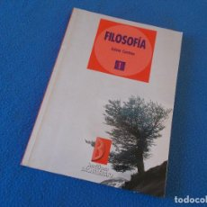 Libros de segunda mano: FILOSOFIA 1º BACHILLERATO . SANTILLANA 1996. Lote 157909586