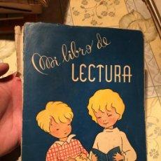 Libros de segunda mano: ANTIGUO LIBRO ESCOLAR MI LIBRO DE LECTURA S.T.J. AÑO 1961. Lote 158175466