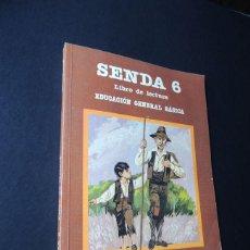 Libros de segunda mano - SENDA 6º EGB / LIBRO DE LECTURA / ED. SANTILLANA 1983 / SIN USAR - 158825986