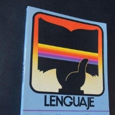 Libros de segunda mano: LENGUAJE 4º EGB / ANDRÉS MENDEZ - JOSÉ CLAVERO / EDITORIAL ANAYA 1983 / SIN USAR /. Lote 158852430