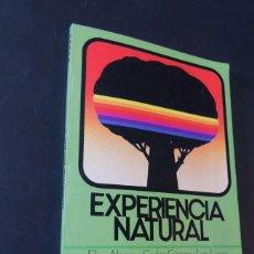 Libros de segunda mano - EXPERIENCIA NATURAL 5º EGB / ELISA ALONSO / EDITORIAL ANAYA AÑO 1982 / SIN USAR - 158918126