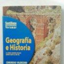 Libros de segunda mano: GEOGRAFÍA E HISTORIA 1 COMUNIDAD VALENCIANA SANTILLANA. Lote 158945313