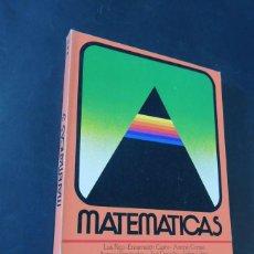 Libros de segunda mano: MATEMATICAS 3º EGB / LIBRO DEL ALUMNO / EDITORIAL ANAYA AÑO 1982 / SIN USAR. Lote 202758950