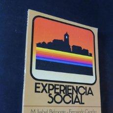 Libros de segunda mano: EXPERIENCIA SOCIAL 5º EGB / LIBRO DEL ALUMNO / EDITORIAL ANAYA AÑO 1982 / SIN USAR. Lote 207467188