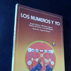 Libros de segunda mano: LOS NUMEROS Y YO 1º EGB / MATEMATICAS / EDITORIAL ANAYA 1981 / SIN USAR. Lote 158969202