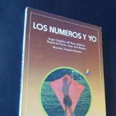 Libros de segunda mano: LOS NUMEROS Y YO 2º EGB / MATEMATICAS / EDITORIAL ANAYA 1981 / SIN USAR. Lote 158969778