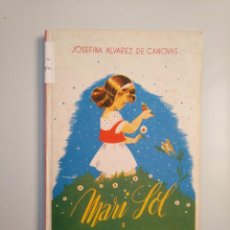 Second hand books - MARISOL. PEQUEÑITA. JOSEFINA ÁLVAREZ DE CÁNOVAS. 1944. TDK377A - 159070014