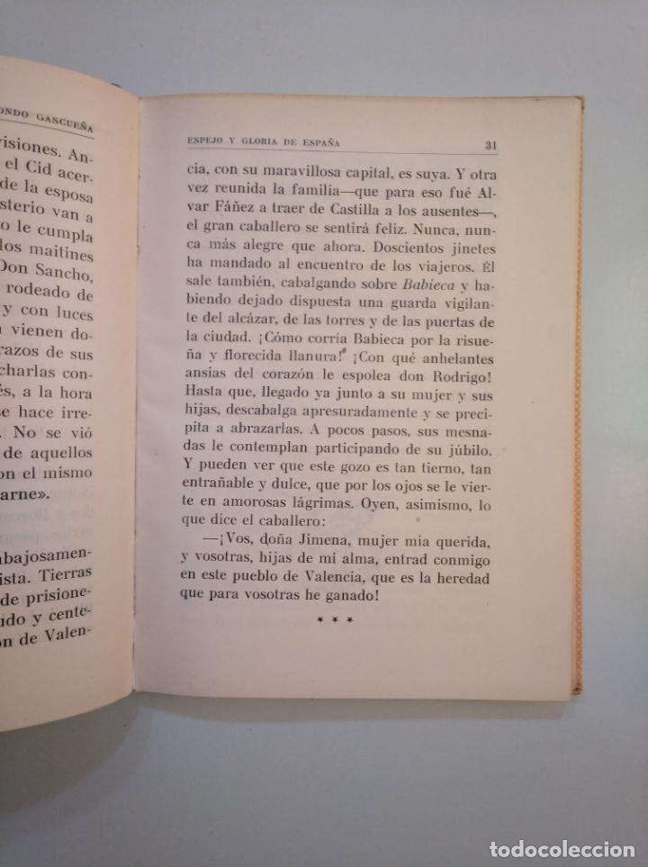 Libros de segunda mano: ESPEJO Y GLORIA DE ESPAÑA. JULIÁN LIZONDO GASCUEÑA. HIJOS DE SANTIAGO RODRÍGUEZ. BURGOS. TDK377A - Foto 2 - 159070374
