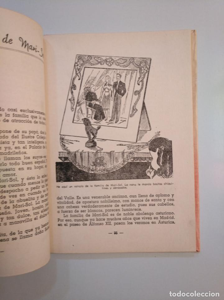 Libros de segunda mano: MARISOL. PEQUEÑITA. JOSEFINA ÁLVAREZ DE CÁNOVAS. 1944. TDK377A - Foto 2 - 159113118