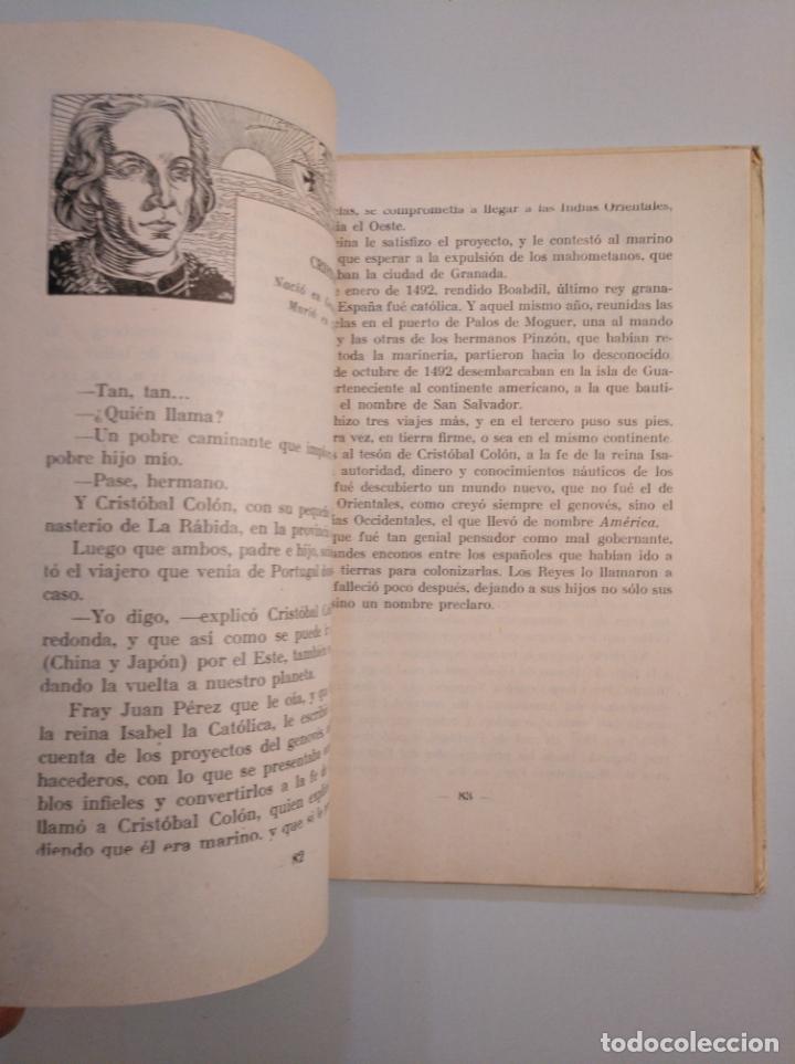 Libros de segunda mano: CIEN FIGURAS UNIVERSALES. ANTONIO J, ONIEVA. HIJOS DE SANTIAGO RODRIGUEZ BURGOS 1953. TDK380 - Foto 2 - 159116526