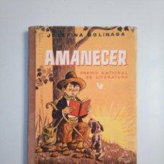 Second hand books - AMANECER. JOSEFINA BOLINAGA. HIJOS DE SANTIAGO RODRIGUEZ BURGOS 1963. TDK380 - 159176562