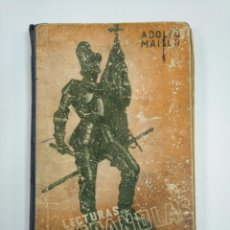 Libros de segunda mano: LECTURAS ESPAÑOLAS. ADOLFO MAILLO. AFRODISIO AGUADO 1943. TDK382. Lote 159474314