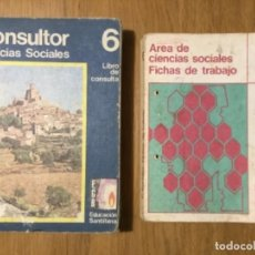 Libros de segunda mano: CONSULTOR 6 CIENCIAS SOCIALES. LIBRO DE CONSULTA+FICHAS DE TRABAJO. Lote 159569902