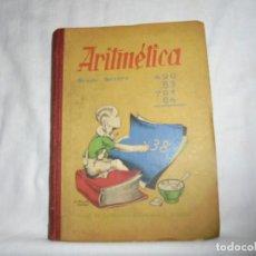 Libros de segunda mano: ARITMETICA.GRADO TERCERO.HIJOS DE SANTIAGO RODRIGUEZ BURGOS.BURGOS 1944.-1ª EDICION. Lote 159898978