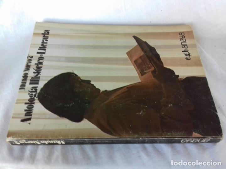 ANTOLOGIA HISTORICO LITERARIA ANAYA / MUNDO NUEVO 7 EGB/ 1973/ / CONSO 26 (Libros de Segunda Mano - Libros de Texto )