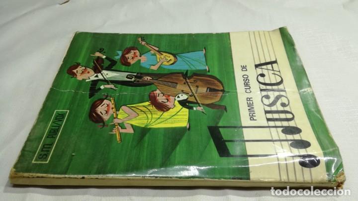 PRIMER CURSO DE MUSICA SM/ 1976/ / / D101 (Libros de Segunda Mano - Libros de Texto )
