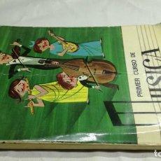 Libros de segunda mano: PRIMER CURSO DE MUSICA SM/ 1976/ / / D101. Lote 160434078
