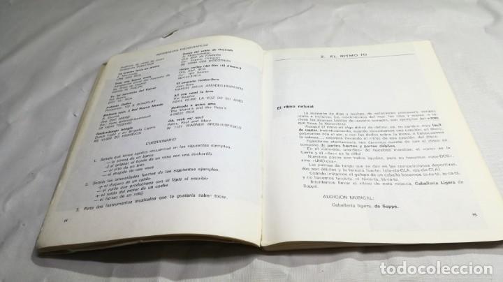 Libros de segunda mano: PRIMER CURSO DE MUSICA SM/ 1976/ / / D101 - Foto 9 - 160434078