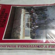 Libros de segunda mano: IGLESIA Y CONVIVENCIA HUMANA/ BACHILLERATO CURO 2º/ PROMOCION POPULAR CRISTIANA 1983/ / . Lote 160434106