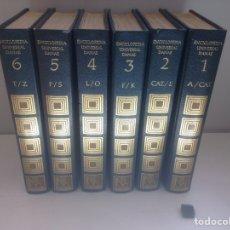 Libros de segunda mano: ENCICLOPEDIA UNIVERSAL DANAE 1975 COMPLETA 6 TOMOS. Lote 160541418