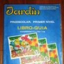 Libros de segunda mano: CRUZ GONZÁLEZ, AURORA DE LA. JARDÍN. PREESCOLAR, PRIMER NIVEL : LIBRO-GUÍA : CUADERNOS 1/1, 1/2, 1/3. Lote 160628450